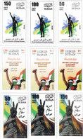 "Sudan New Issue2019-SET ""B""- 1st Ann Revolution 9 Stamps,cpl.MNH- Limited ,( No Skrill & Paypal ) - Sudan (1954-...)"