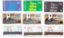 "Sudan New Issue 2019-SET ""C"" 1st ASnn Revot.High Values 9 V. MNH- Scarce - ( No Skrill & Paypal ) - Sudan (1954-...)"