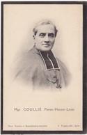 Généalogie - Faire-part De Décés - Carte Mortuaire : Mgr. COULLIE Pierre-hector-louis - ( Voir Au Dos ) - Todesanzeige