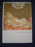 CARTE POSTALE Ancienne Enfant : GESEGNETE WEIHNACHT / HUMMEL / JOSEF MULLER - MUNCHEN N° 5767 / GERMANY - Vari