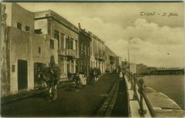 AFRICA - LIBYA - TRIPOLI - IL MOLO - EDIZ. COMETTO - TIMBRO / POSTMARK 82 REGGIMENTO FANTERIA COMANDO - 1912 (BG7563) - Libia