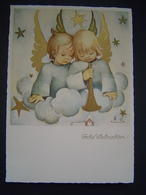 CARTE POSTALE Ancienne Religion : FROHE WEIHNACHTEN / HUMMEL / JOSEF MULLER - MUNCHEN N° 5763 / GERMANY - Allemagne