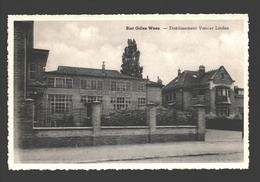 Sint-Gillis-Waas / Sint-Gilles-Waas - Etablissement Vander Linden - Uitgave Em. Van Den Bosch, Bazar & Huishoudartikelen - Sint-Gillis-Waas