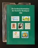Jahrbuch Bund 1980, Postfrisch ** Wie Verausgabt - BRD