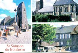 N°3056 T -cpsm St Samson De Bonfosse -multivues- - Autres Communes