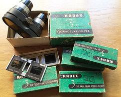 Lot Visionneuse Radex + Plaques - Visionneuses Stéréoscopiques