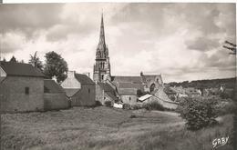 22 BOURBRIAC L Eglise Vue Du Koz Kastel - Other Municipalities