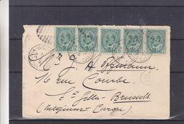 Canada - Lettre De 1911 - Oblit Victoria B.C. - Exp Vers St Gilles - - 1903-1908 Règne De Edward VII