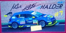 Mike Halder - Handtekening