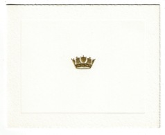 Ref 1334 - 428 AW (F) Squadron - Uplands Ontario Canada - Unused Christmas Card - Vieux Papiers