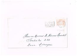 Vignette à 11 Francs Sur Lettre De Brugge à Antwerpen. - Postage Labels