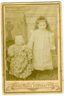 CABINET POST MORTEM MOURNING ANTIQUE PHOTO BABY VICTORIAN VICTORIA - Oud (voor 1900)