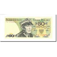 Billet, Pologne, 50 Zlotych, 1986, 1986-06-01, KM:142c, SPL - Pologne