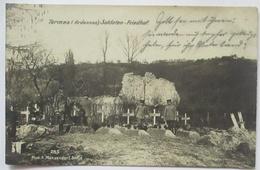 Termes Ardennes, Soldatenfriedhof, Feldpost RIR 80 Nach Friesenheim 1915 (5596) - Cimetières Militaires