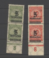 D.R.333,334,Farbklecks In Li Von Milliarden,F.88,OPD Königsberg,xx (4210) - Ongebruikt