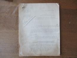 ETAT FRANCAIS LILLE LE 16 JANVIER 1942 LE PREFET DU NORD RAVITAILLEMENT DE LA POPULATION EN CHAUSSURES 8 PAGES - Historische Documenten