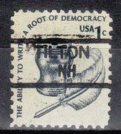 USA Precancel Vorausentwertung Preo, Locals New Hampshire, Tilton 835,5 - Vereinigte Staaten