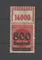 D.R.Nr.303 V,postfrisch,gep., - Ongebruikt