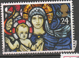 PIA - GRAN BRETAGNA : 1992 :  Natale : La Madre E Il Bambino    -  (YV  1641) - Cristianesimo