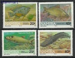 Namibia 1992 Mi 719-722 MNH ( ZS6 NMB719-722dav37C ) - Peces