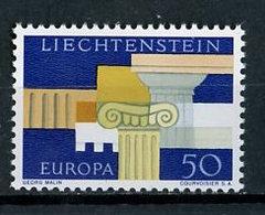 Liechtenstein 1964 Y&T N°388 - Michel N°444 *** - 50r EUROPA - Ungebraucht