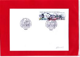 ATM LISA 1 Ecopli EC 0.71 € Montmartre, Sacré-Coeur, Place Du Tertre, Paris, Moulin De La Galette Obl 9 Mars 1917 - 2010-... Vignette Illustrate