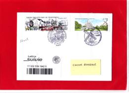 ATM LISA 2 Suivie 100 Gr  Montmartre, Sacré-Coeur, Place Du Tertre, Paris, Moulin De La Galette Obl 9 Mars 1917 - 2010-... Viñetas De Franqueo Illustradas