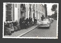 Sint-Gillis-Waas - Fotokaart Gevaert - Zeer Geanimeerd - Classic Car / Auto / Oldtimer - Sint-Gillis-Waas