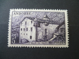 ANDORRE N° 124  OBLITERE - Usati