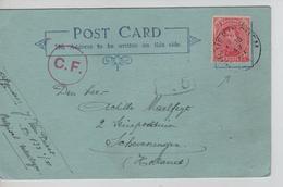 REF240/ TP 138 S/CP C.Wulveringhem (Wulveringem) 19/7/1916 Van Diest B132°/I > Holland Censure C.F. & NL Reception - Guerre 14-18