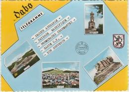 DABO  -  4 VUES Et BLASON - TELEGRAMME (105 X 150mm)  -   Editeur : C.A.P.  N° 710 - Dabo