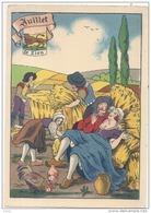***  Illustrateur - édition Barr Dayez - 1288 G  Les Douze Mois De L'Année - JUILLET -  Neuve TTB - 1900-1949