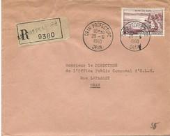 Algérie LR YT 1193 Oran Prefecture 29/06/60 - Algeria (1924-1962)