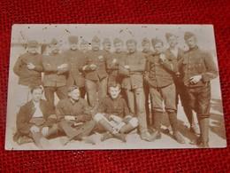 MILITARIA  -   Armée Belge  -  Photo De Groupe - Regiments