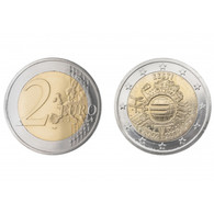 Estonia 2 Euro 2012 10 Years Of Euro Cash UNCIRCULATED - Estland