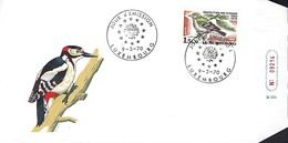 Luxembourg  -  FDC  -  9.3.1970  -  Protection Des Oiseaux - FDC