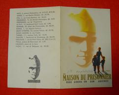 Ww2 Carte La Maison Du Prisonnier Vous Aidera En Son Absence Par Jacquelin Maréchal Pétain 9x13cm - 1939-45