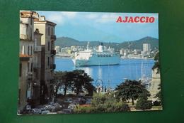 Z 5 ) AJACCIO REF CARTE 10 20 0162  ARRIVEE AU PORT DU CAR FERRY  NAPOLEON - Ajaccio