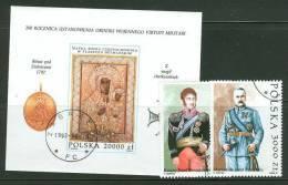 POLAND 1992 MICHEL NO: 3383-3384 BL 117 USED /zx/ - 1944-.... Republik