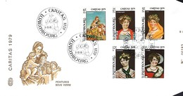 Luxembourg  -  FDC     5.12.1979  -  Caritas 1979 - FDC