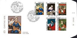 Luxembourg  -  FDC    5,12,1978  -  Caritas 1978 - FDC