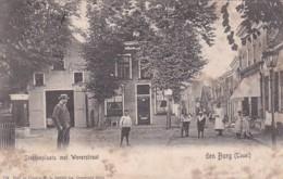 25272Texel, Den Burg Steenenplaats Met Weverstraat Rond 1900 (zie Hoeken En Achterkant) - Texel