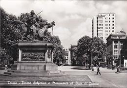 TORINO - Piazza Solferino E Monumento Al Duca Di Genova - Italia