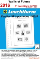 Feuilles Wallis Et Futuna 2016 à Pochettes SF Leuchtturm 357213 - NEUF ..Réf.DIV20168 - Albums & Reliures