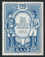 SARRE 1953 - Yv. 321 **   Cote= 5,00 EUR - Journée Du Timbre  ..Réf.DIV20198 - 1947-56 Occupation Alliée