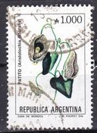 Argentina, 1989/90 - 1000a Aristolochia Littoralis - Nr.1689 Usato° - Argentina