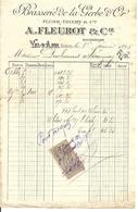 88 - Vosges - Val D 'Ajol - Brasserie De La Gerbe D'Or - Collections