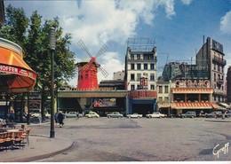 CPSM PARIS LE MOULIN ROUGE - Bar, Alberghi, Ristoranti