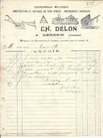88 - Vosges - Lerrain - Charronnage Mécanique - Collections