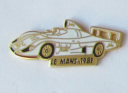 1 Pins COURSE/ENDURANCE - LE MANS 1981 Signé EMC - F1